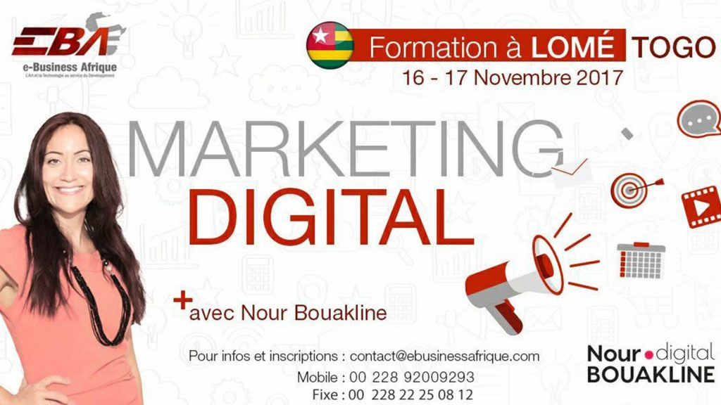Session du 16 au 17 Novembre 2017_Formation Marketing Digital